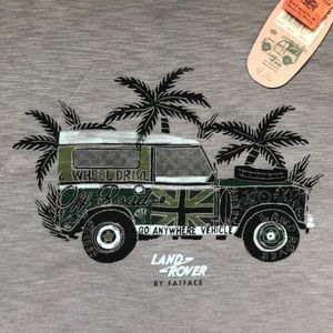 FAT FACE / LAND ROVER PALM TEE (L)